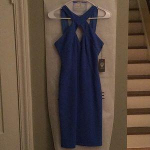 Vince Camuto gorgeous blue dress